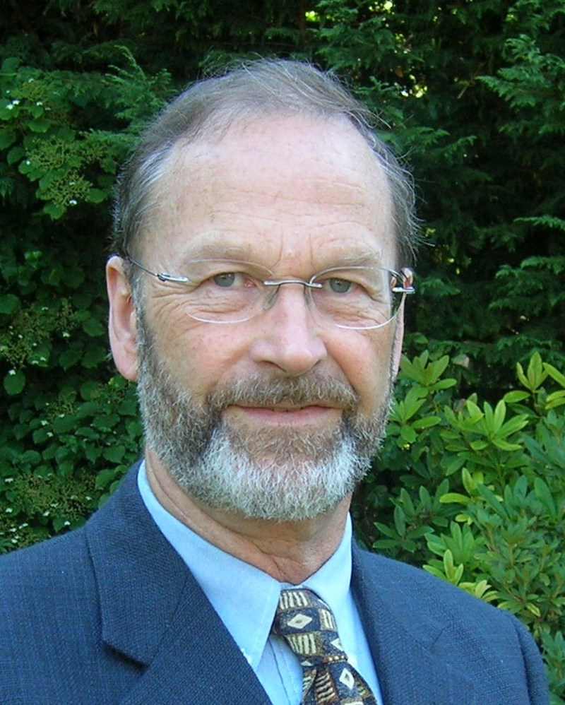 Dr. William Rees, former Director of UBC's School of Community